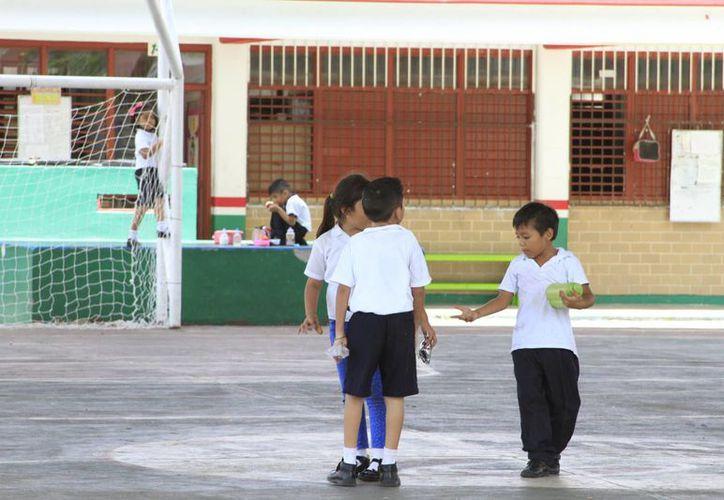 Tres mil 82 niños fueron registrados para ingresar por primera vez al sistema educativo estatal. (Ángel Castilla/SIPSE)