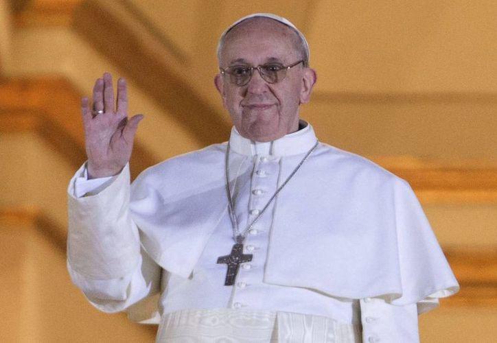 """Se debe siguir a Jesús por amor"", dijo Jorge Mario Bergoglio."