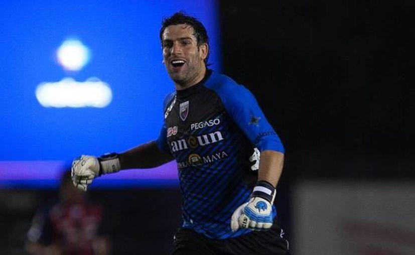 Hace un mes en entrevista Jorge Villalpando expresó su deseo de permanecer en el Atlante. (Foto de Contexto/Internet)
