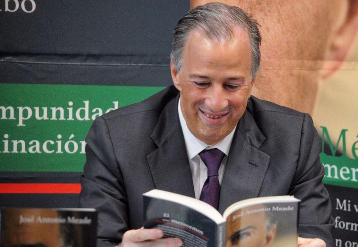osé Antonio Meade, candidato presidencial de la coalición de 'Todos por México'. (Foto: Cuartoscuro)