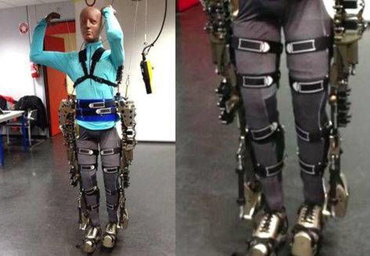 El exoesqueleto que permitirá a una persona dar la patada inicial de Brasil 2014 (Milenio)