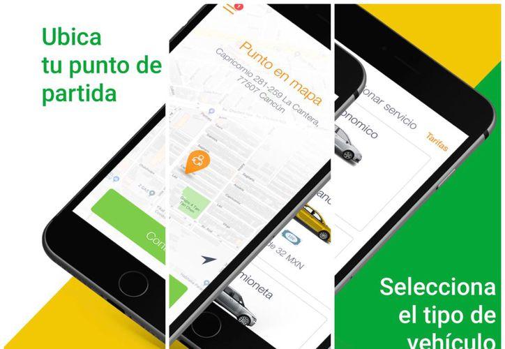 La nueva herramienta fue presentada este miércoles y se espera, mejore la imagen del transporte en Cancún. (Redacción/SIPSE)