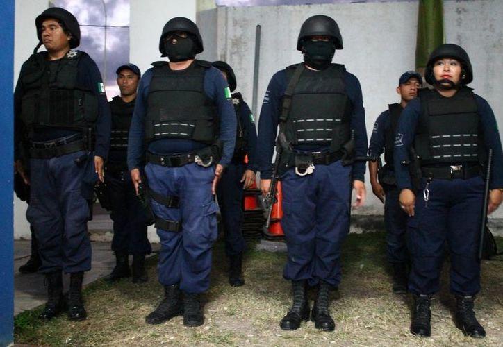 La sublevación de los 280 policías se suscitó cuando se disponían a efectuar el cambio de turno y guardia en cada una de las áreas de la policía. (Archivo/SIPSE)