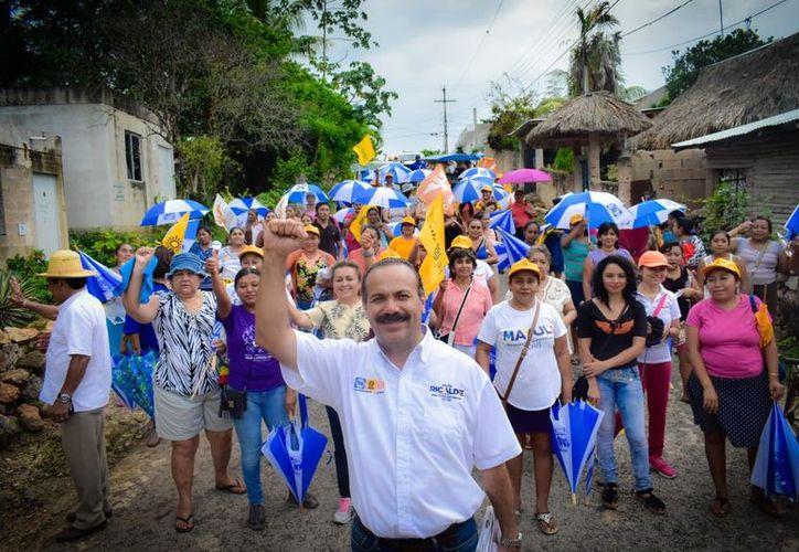 Julián Ricalde sostuvo que el alarmante índice delictivo que se registra en Cancún. (Foto: Redacción)