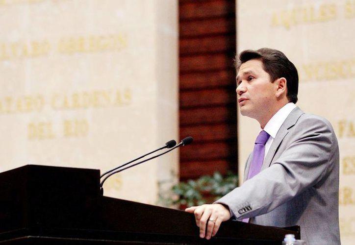 Mauricio Sahuí Rivero habló sobre la designación de consejeros. (Milenio Novedades)