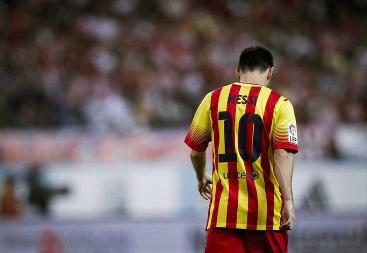 EL técnico culé consideró que la lesión de Messi no es de preocupación. (Foto: EFE)