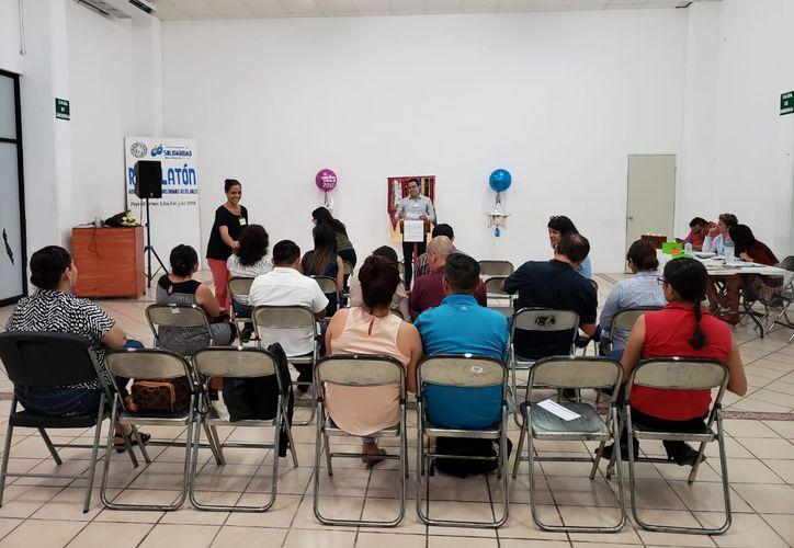 La asociación civil sesiona en las instalaciones del auditorio del Palacio Municipal, los jueves a las 20 horas. (Octavio Martínez/SIPSE)