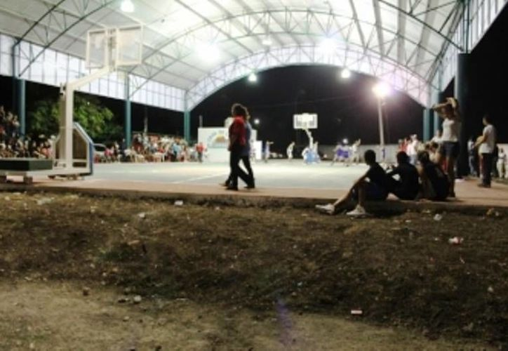 Los espacios beneficiarán a los deportistas de comunidades aledañas. (Carlos Horta/SIPSE)