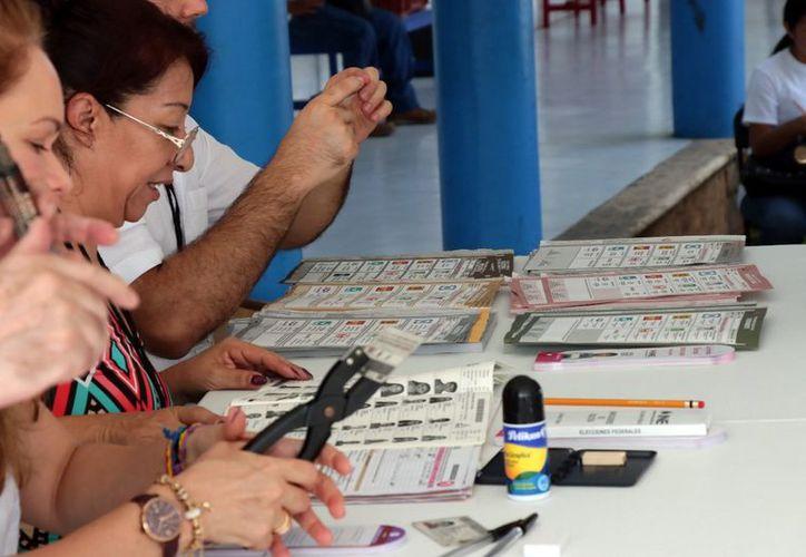 El desarrollo de las votaciones fue publicado en varias redes sociales. (Milenio Novedades)