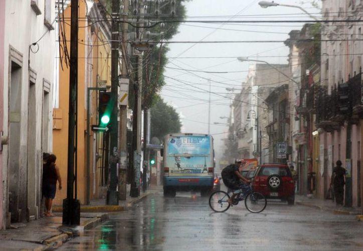 La lluvia del pasado martes 22 de julio ha sido una de las más intensas de la temporada. (Jorge Pallota/SIPSE)