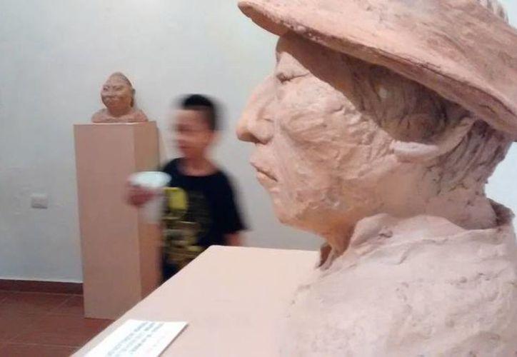 Obras del escultor Luis Manuel May Ku serán expuestas en el Museo de la Cultura Maya de Chetumal. (Redacción/SIPSE)