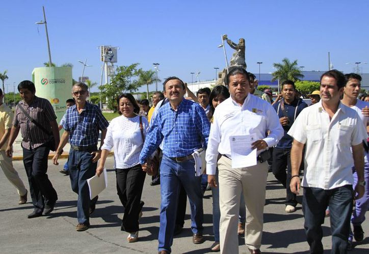 El ex alcalde de José María Morelos, Domingo Flota Castillo presentó este jueves un recurso de nulidad ante el Tribunal Superior de Justicia. (Jorge Carrillo/SIPSE)