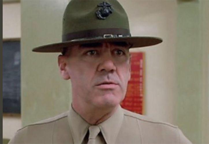 """Ermey dio vida al malhablado sargento de artillería Hartman, en la película """"Full Metal Jacket"""". (Foto: Internet)"""
