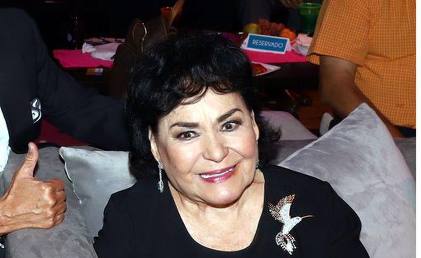 Carmen dijo que está dispuesta a ser la madre de Frida. (Agencia Reforma)