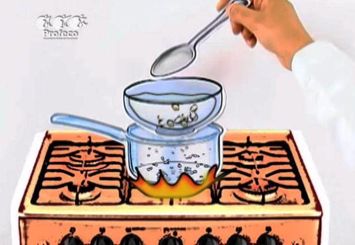 Profeco ofrece talleres para crear una amplia gama de productos de higiene personal y para el hogar. (Captura de pantalla de YouTube)