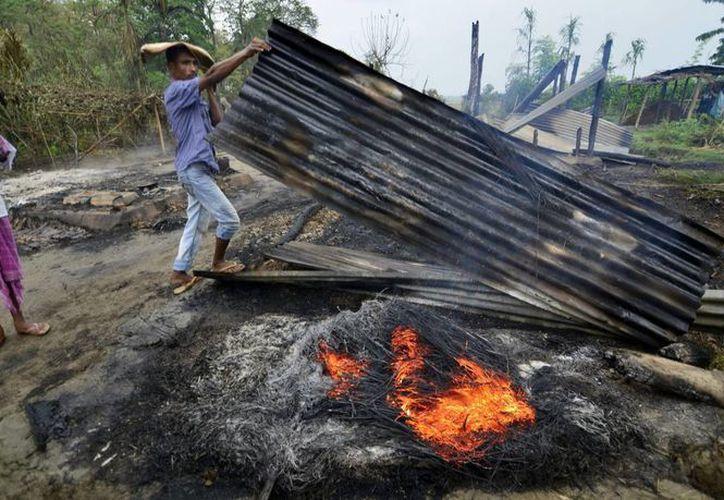 Medios de comunicación indios presumen que detrás de los más recientes ataques está  el Frente Nacional Democrático de Bodoland. (EFE)