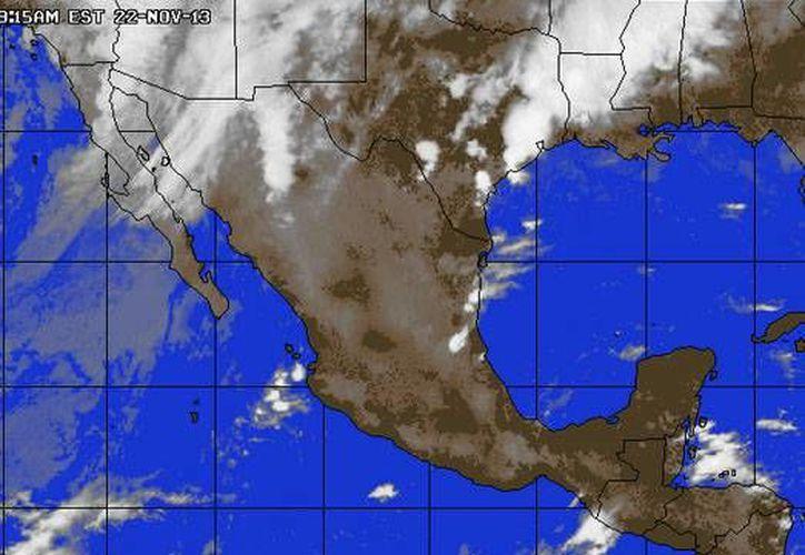 Pronostican probabilidad de lluvias moderadas en Quintana Roo; la temperatura mínima será de 21 grados centígrados. (accuweather.com)