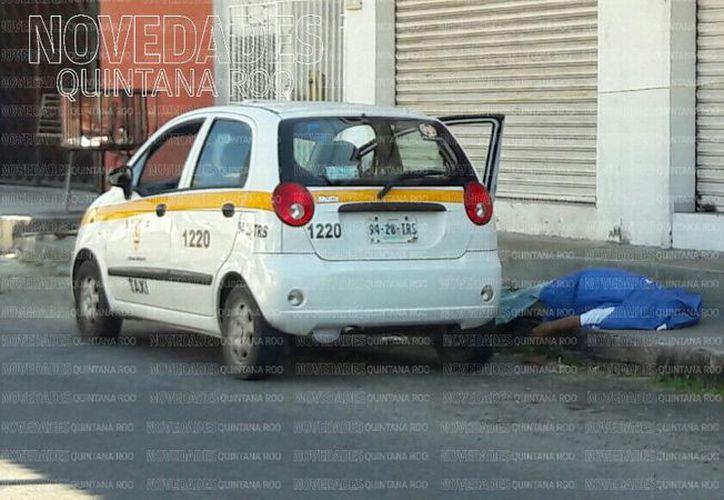 La zona fue acordonada y del caso se hicieron cargo los policías ministeriales y peritos de la Dirección de Servicios Periciales, quienes trasladaron el cuerpo.