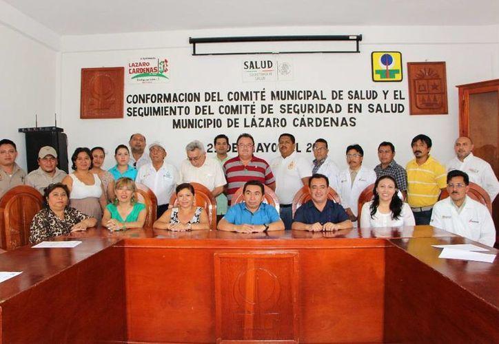 Se conformó el Comité de Salud Municipal.  (Raúl Balam/SIPSE)