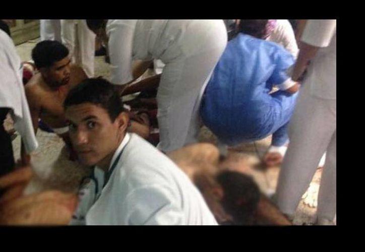 El motín en el centro de detenidos Alayón de Maracay dejó en total 30 heridos. (infobae.com)