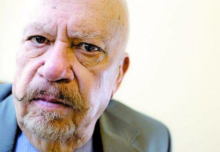 A sus 81 años, Eduardo Muriel todavía es un hombre alto, robusto, de cabeza calva y mirada penetrante. (Arturo Bermúdez/Milenio)