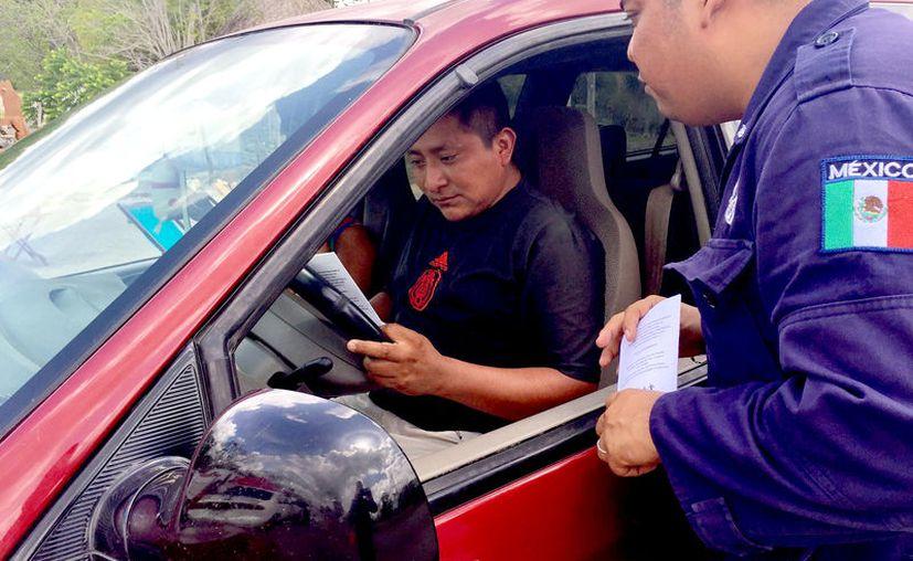 El director de Tránsito municipal, expuso que desconoce la situación. (Foto: Jesús Caamal / SIPSE)