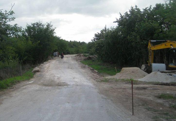 Comunidades del municipio requieren la construcción de caminos rurales para mejorar sus condiciones de vida. (Javier Ortiz/SIPSE)