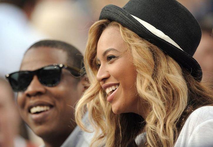 En la imagen, los cantantes estadounidenses Jay-Z y Beyonce Knowles, durante un evento en EU. (EFE/Archivo)