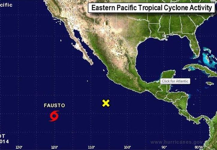 La tormenta se fortalecerá en las próximas horas, según prevén meteorólogos. (nhc.noaa.gov)