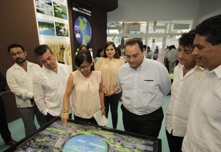 Este miércoles se inauguró el Planerario Sayab de Playa del Carmen. (Cortesía)