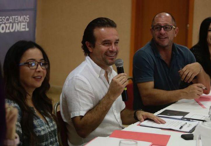 Pedro Joaquín afirmó que las propuestas y los planes a manejar coinciden con los puntos que dicha organización turística planteó en la reunión. (Redacción/SIPSE)