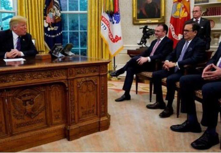 Trump había declarado previamente que el muro sería pagado facilmente por México (SDP Noticias)