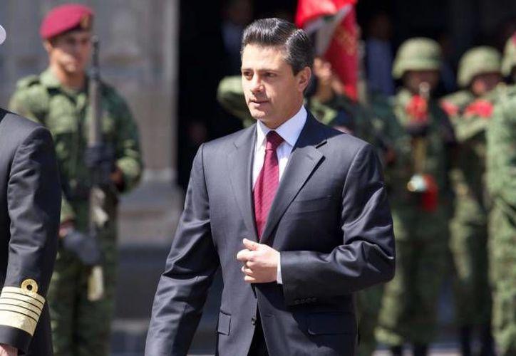 Peña Nieto compró una casa a los 16 años de edad, según consta en su declaración patrimonial. (Archivo/SIPSE)