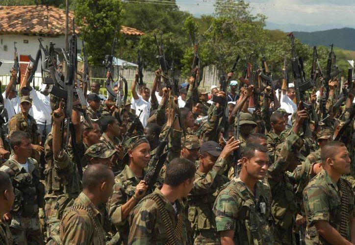 El 8 de julio de 1999, las FARC atacaron el municipio de Cundinamarca,  acción en la que murieron 38 militares. (EFE/Archivo)