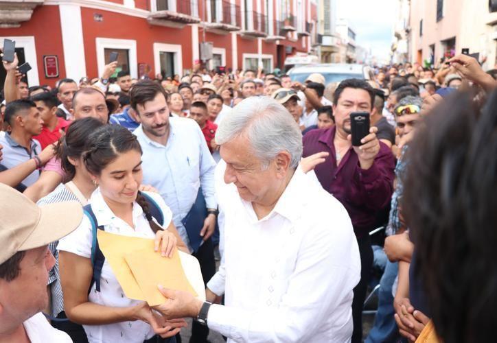El presidente Andrés Manuel López Obrador realizará este viernes su segunda gira de trabajo por Yucatán como mandatario. (Archivo/Sipse)