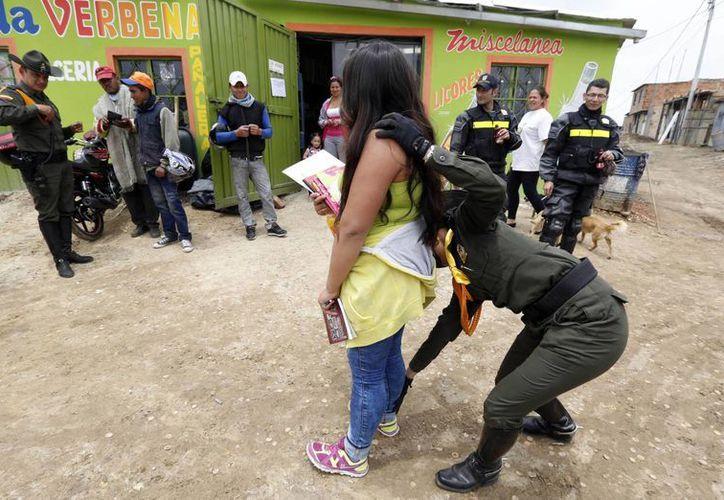 En Briceño, al noroccidente del país, se registró el hostigamiento de un grupo rebelde al iniciar la jornada electoral. (Agencias)