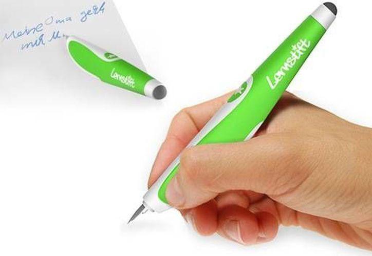 El bolígrafo funciona por medio del sistema operativo Linux. (Foto: lernstift.com/actualidad.rt)