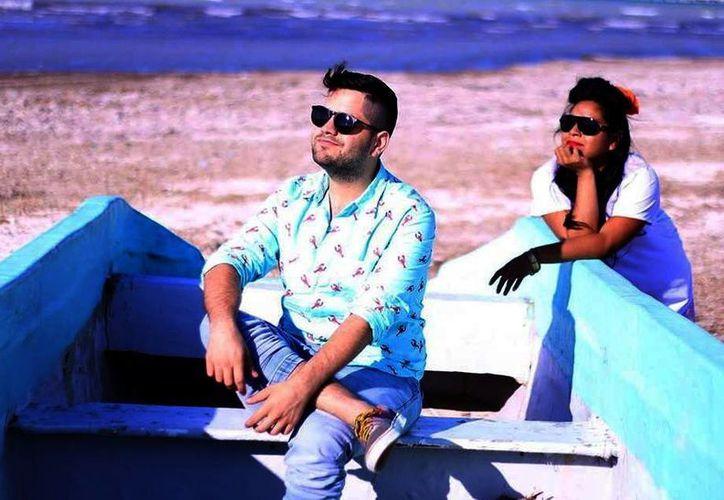 'Gwabir' ha logrado una productiva mancuerna artística con la actriz Marpi Jiménez 'Britany Yajaira'. (Milenio Novedades)