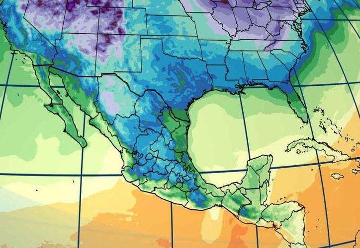 Se prevé que la temperatura máxima alcance los 24 grados centígrados durante el día en Cancún. (Conagua)