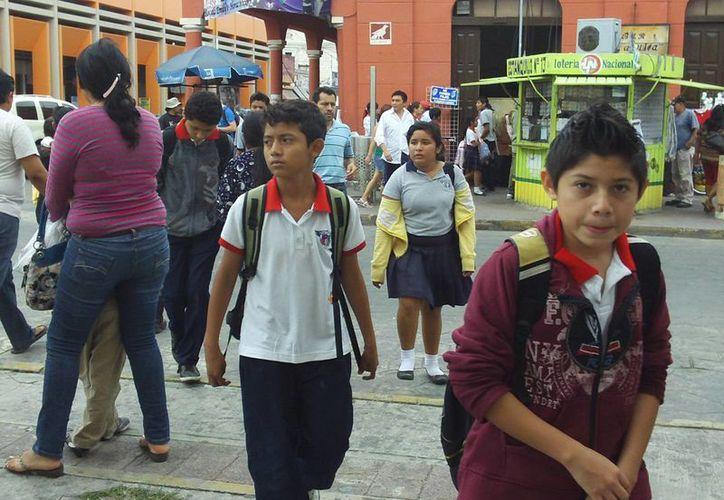 En Progreso no solo hay cateos en escuelas, sino que en algunos casos se piden pláticas sobre bullying. (SIPSE)