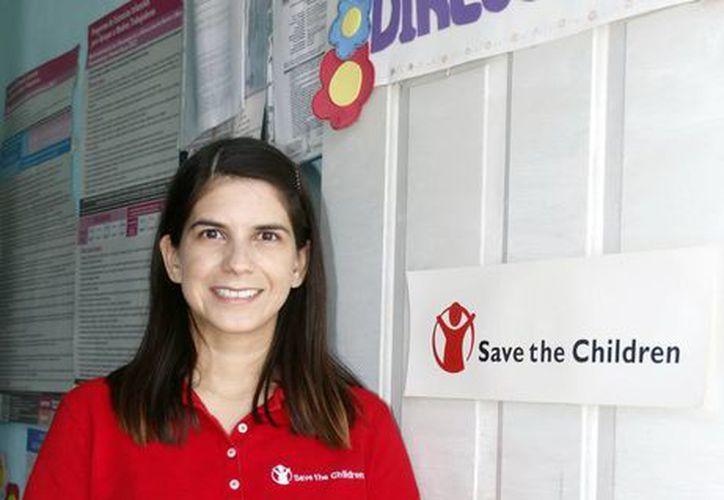 Diana Castillo Castro, encargada de Alianzas Estratégicas de esta organización en Yucatán. (Milenio Novedades)