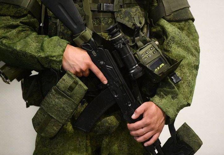 El traje de la nueva generación de soldados de Rusia contará con un chaleco antibalas más ligero. Imagen de contexto. (ria.ru)