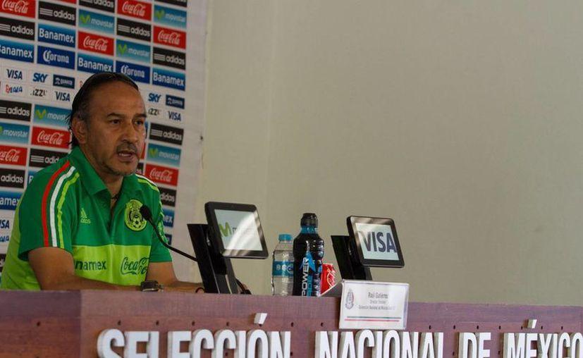 El técnico de la Sub-23, Raúl Gutiérrez, afirmó que el equipo está diseñado para lograr una nueva medalla de oro en los Juegos Olímpicos de Río de Janeiro. (Archivo Notimex)