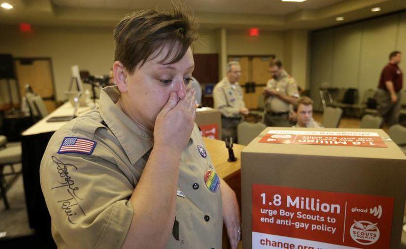 Jennifer Tyrrell fue expulsada del Movimiento Scout porque ser abiertamente gay. (Agencias)