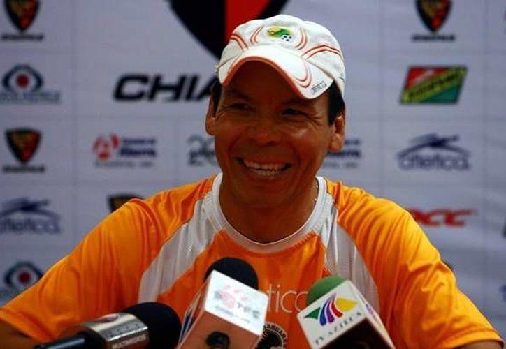 'El Profe' Cruz fue entrenador de Jaguares de Chiapas en el torneo recién terminado. (mediotiempo.com/Archivo)