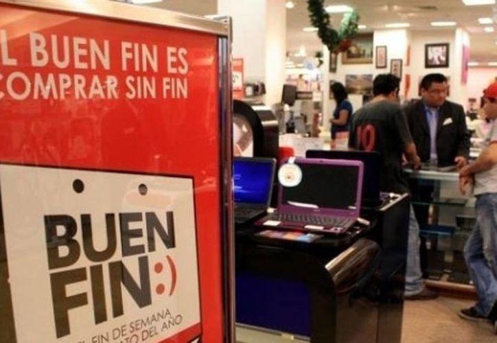Sólo podrán hacer uso del logo, marca y slogan de El Buen Fin a los negocios que se inscriban en la página de la Canaco Mérida, y será por los cuatro días del programa. (Archivo/SIPSE)