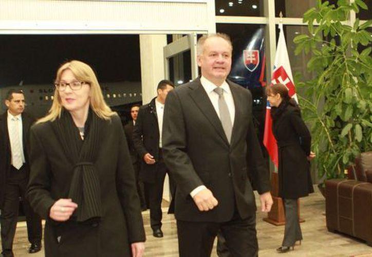 El presidente de Eslovaquia también visitará Monterrey para explorar las posibilidades de negocios. (Milenio)