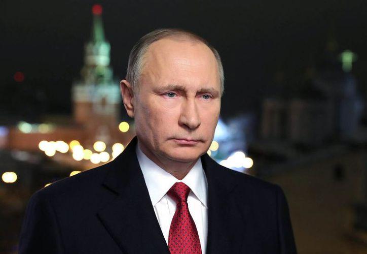 Putin hizo sus declaraciones en una ceremonia de premiación militar en el Kremlin. (Contexto)