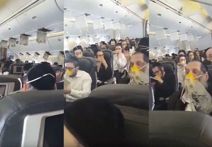 Los pasajeros de un vuelo internacional optaron por rezan ante la pérdida de presión del avión. (ActualidadRT)