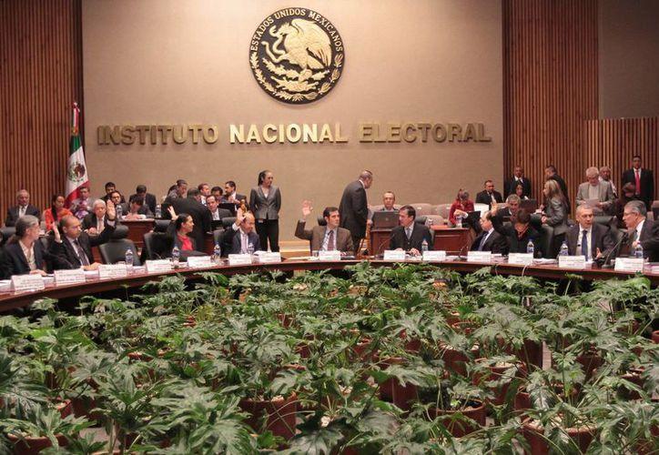 El INE aprobará en breve el listado de integrantes de consejeros locales electorales. (Notimex)
